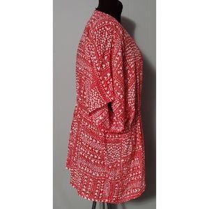 Victoria's Secret Swim - NEW VS Red White Heart Kimono Robe